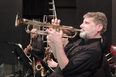 Dahlgren on trumpet