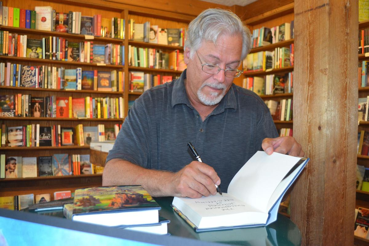 Author comes 'full circle' in new series
