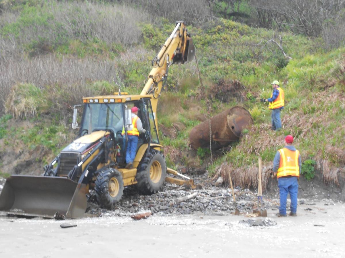 Unearthed fuel tank a reminder of '70s landslide