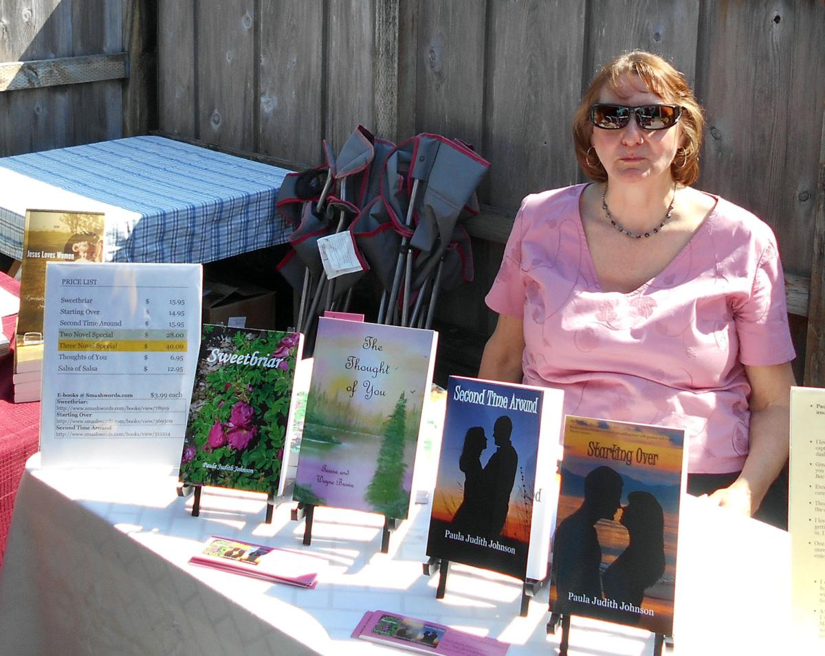 Indie author book-signing in Cannon Beach