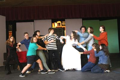 Seaside students present fall play