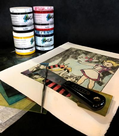 Color printmaking with Angela Purviance