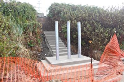 Stalled stair project irks residents on Gogona Avenue