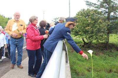 Memorial Day observance in Cannon Beach