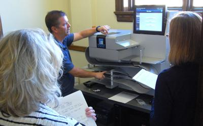 New machine will count county's ballots