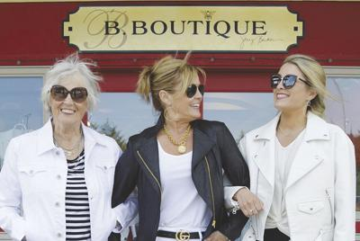 B. Boutique navigates the pandemic through technology