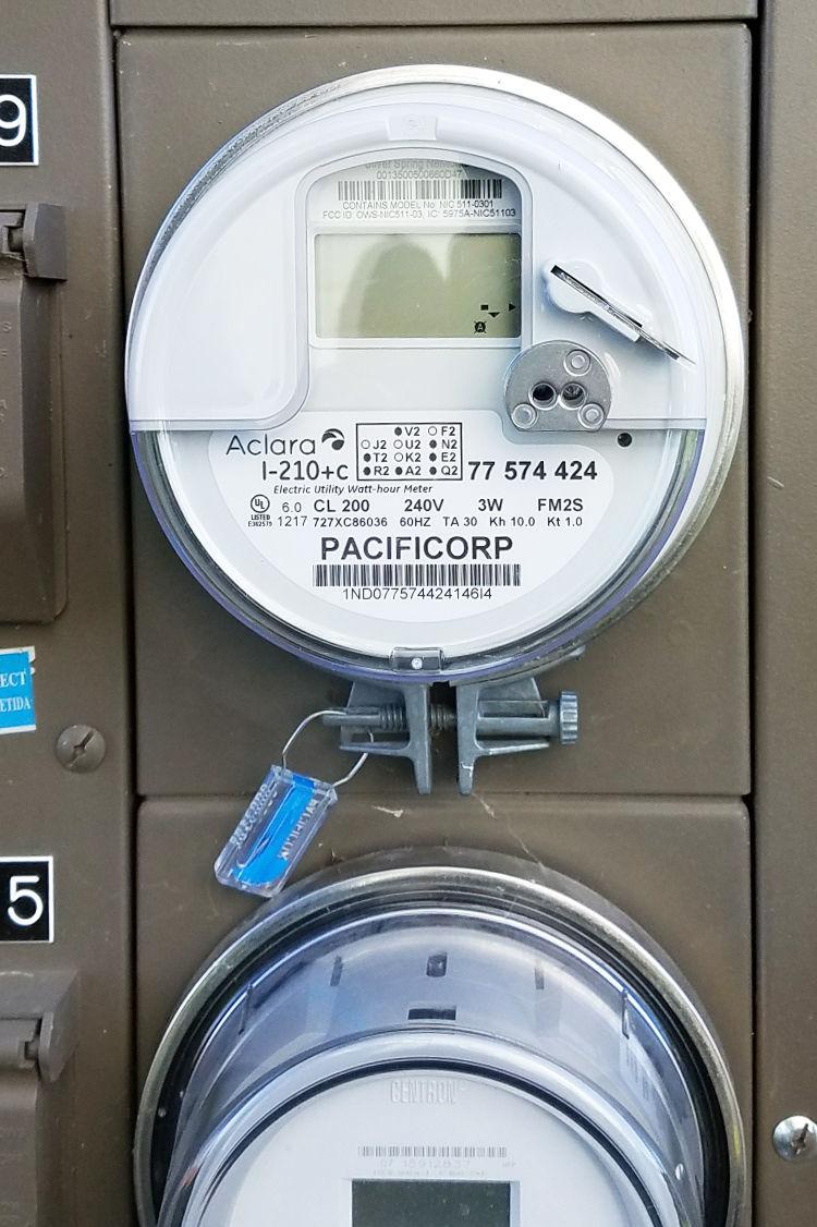 Pacific Power smart meter