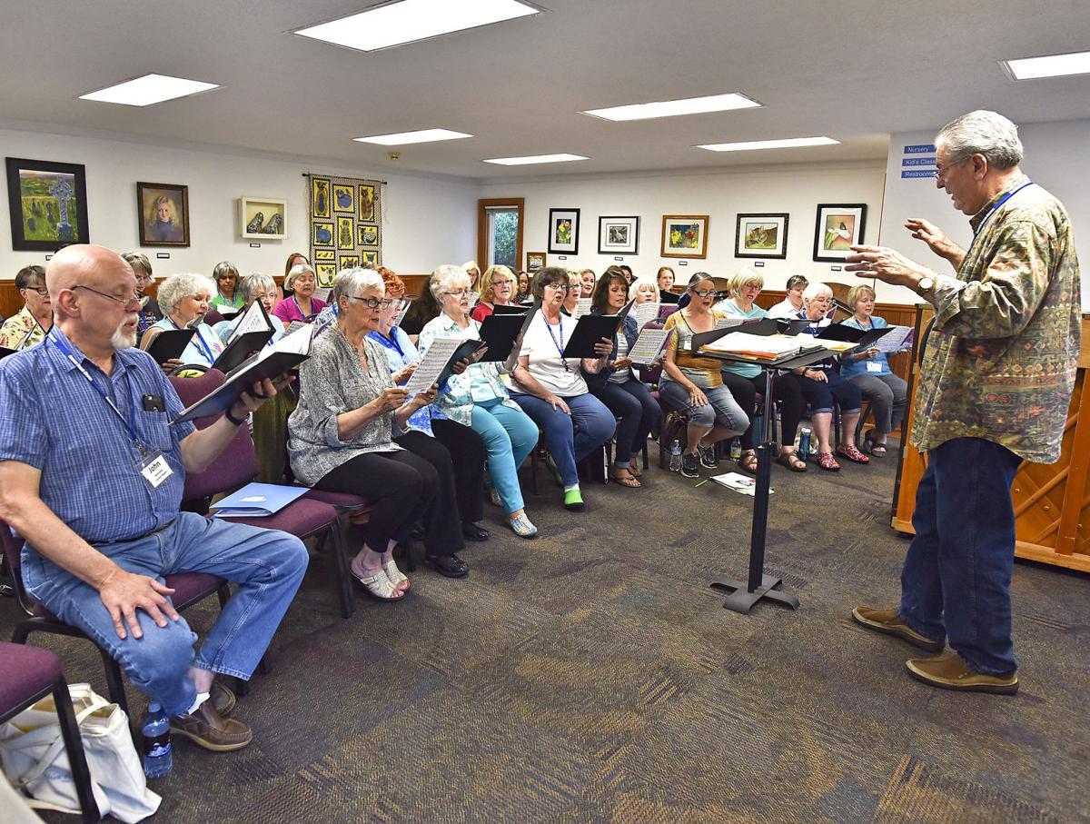 Chorus raises voices to spring