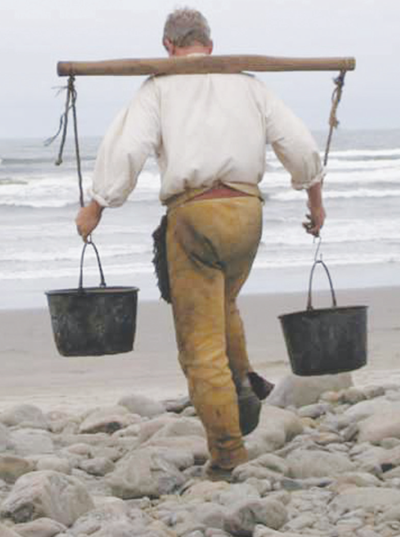 Lewis and Clark Salt Makers reenact historic salt making event Sept. 11-12