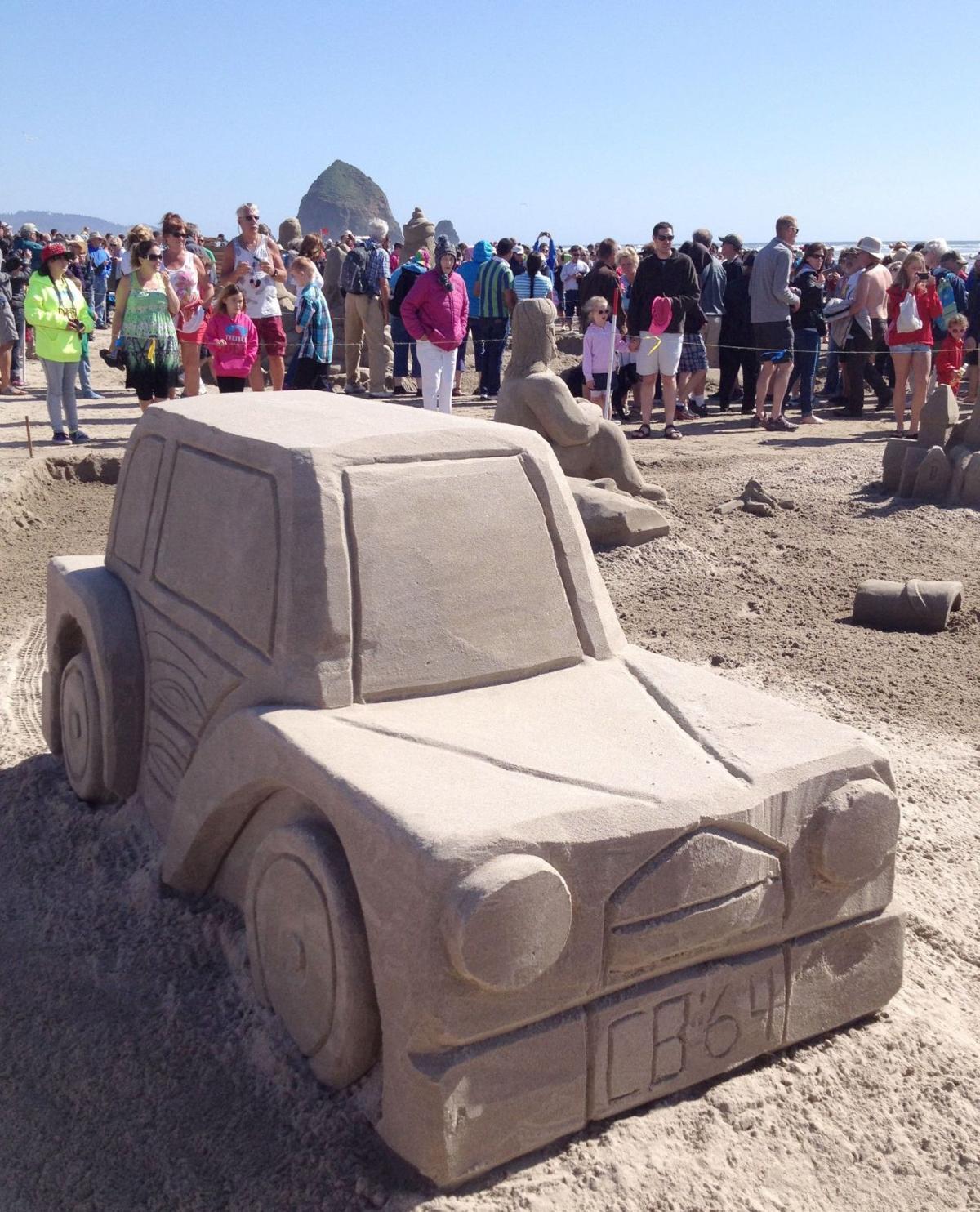 Sandcastle contest celebrates anniversary