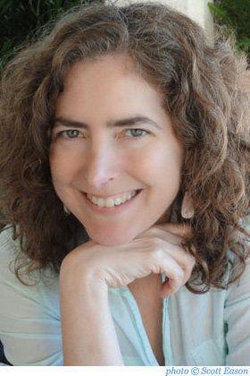 Author Diana Abu-Jaber in Manzanita