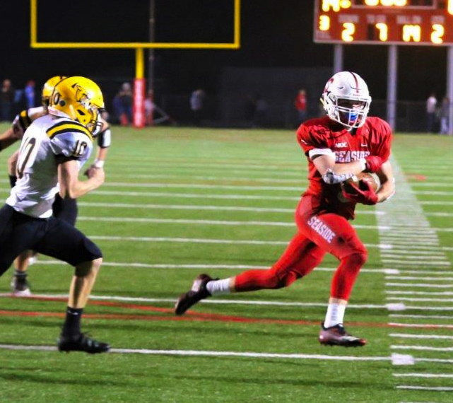Seaside hammers Cascade in state playoff
