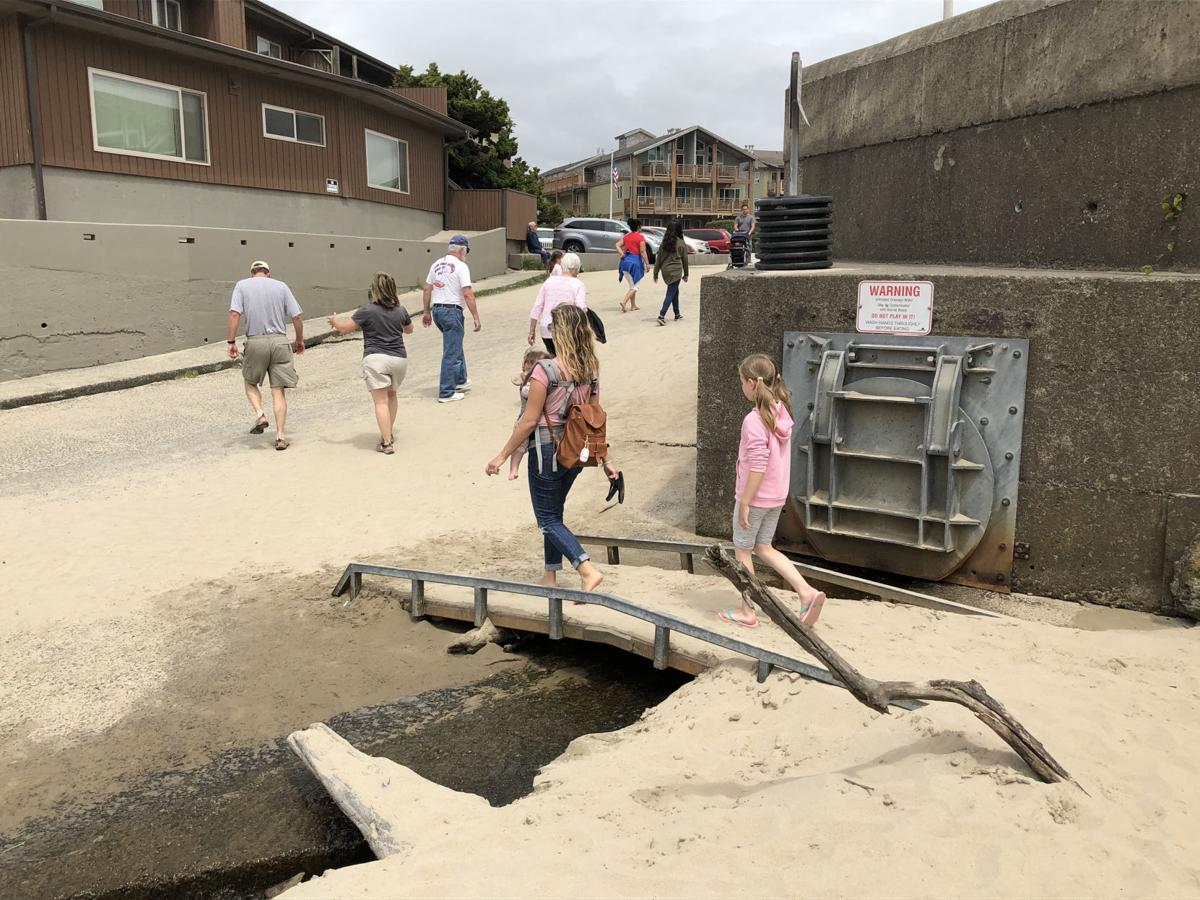 Bacteria spikes in Cannon Beach outfalls