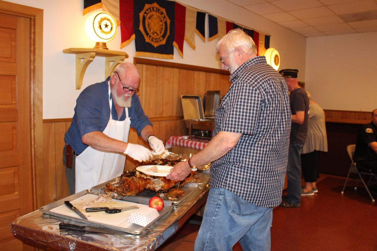 American Legion hosts first responders dinner