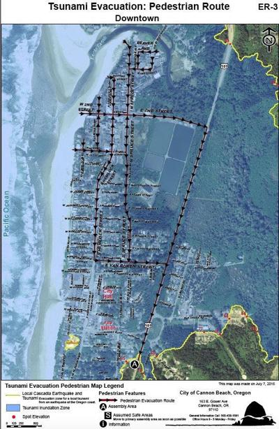 Cannon Beach emergency committee reconsiders escape plan
