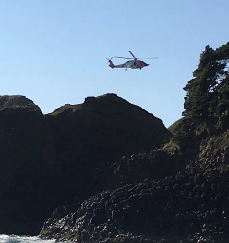 Fire rescue training pays off in Cannon Beach