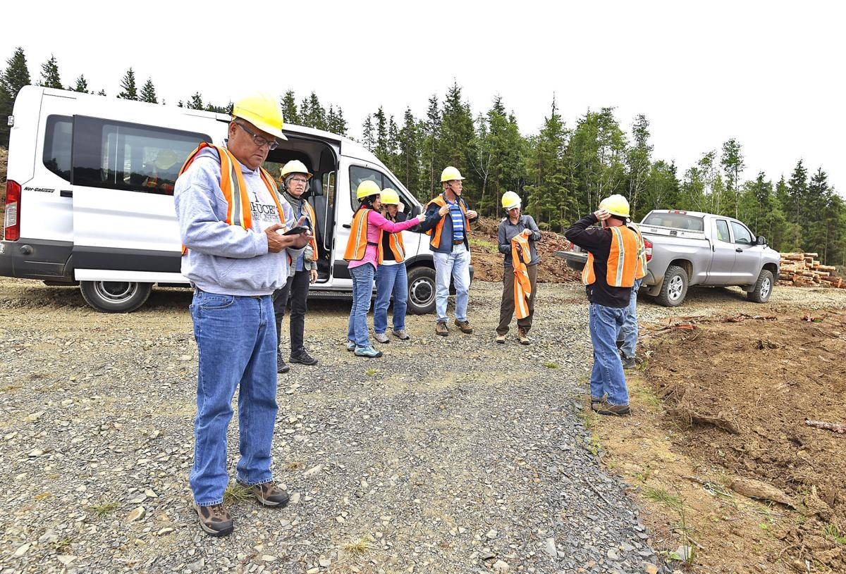 Project manager provides construction update