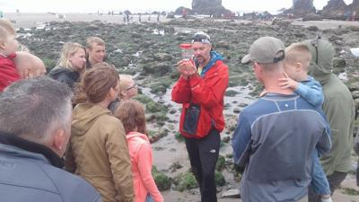 Guided tide pool tours