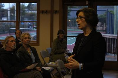 Bonamici discusses health care, climate change