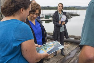 Bonamici visit highlights salmon recovery efforts