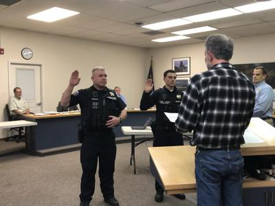New officers welcomed