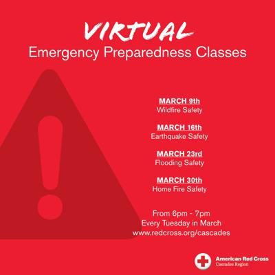 Wildfire Safety Preps: Red Cross offering virtual classes