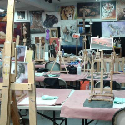 Women's Only painting workshops