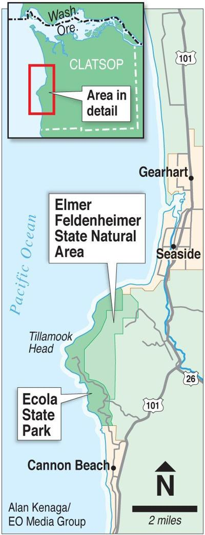Donated land to become more like Ecola State Park
