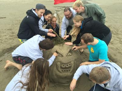 First-year dental students come to Cannon Beach