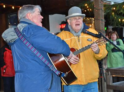 Local holiday events encourage singing, lamp lighting and tea drinking