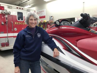 Volunteer fights fires for the love of it
