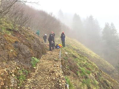 Two Saddle Mountain rescues: same time, same place, no relation