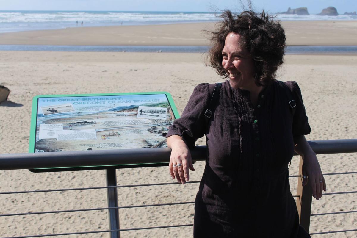 Beach Bill sign dedicated in Cannon Beach