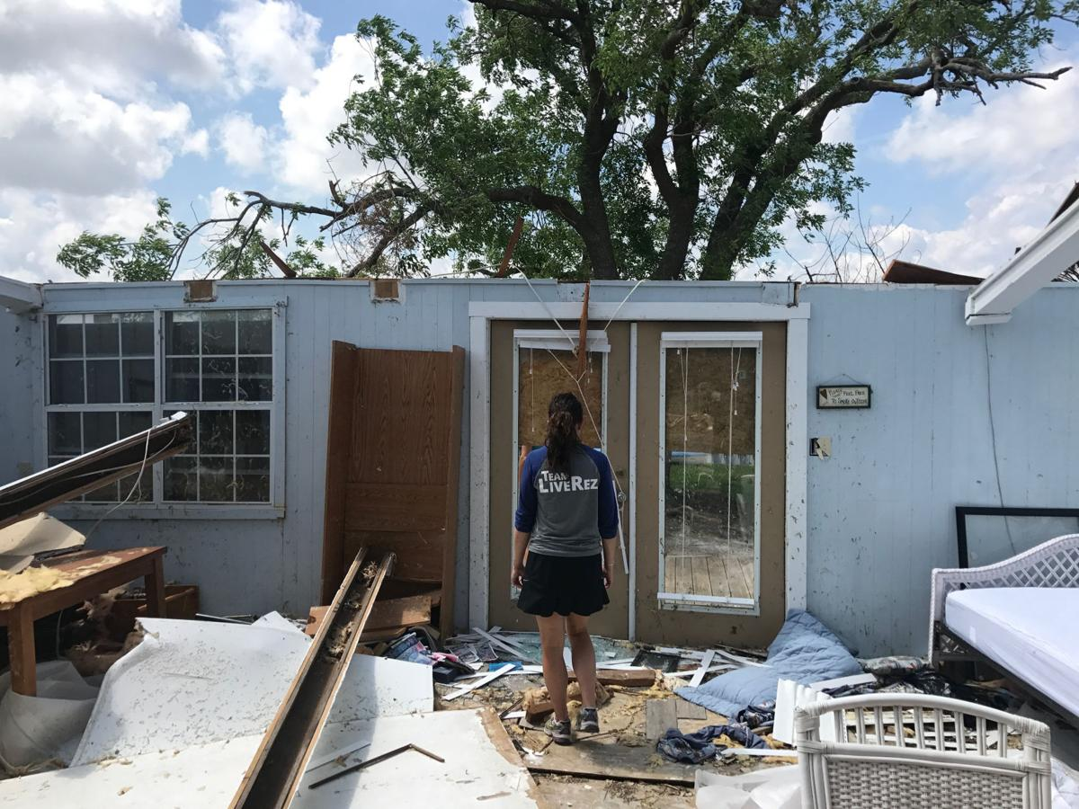 Helping after a hurricane