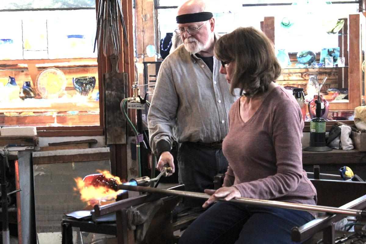 The art of glassmaking