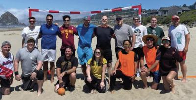 Cannon Beach hosts the Cascadia Cup Beach Handball Series