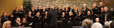Cannon Beach Chorus in performance