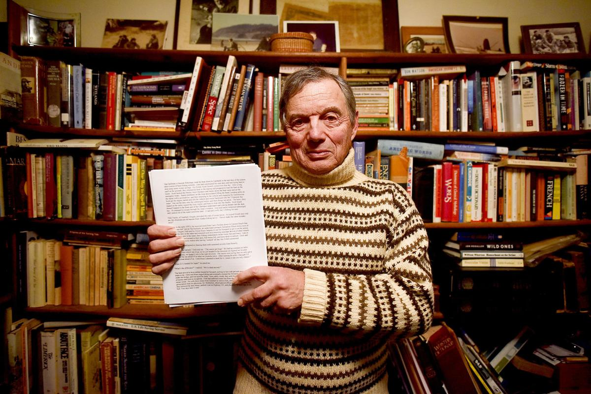 Cannon Beach author Peter Lindsey presents manuscript-in-progress about the dorymen