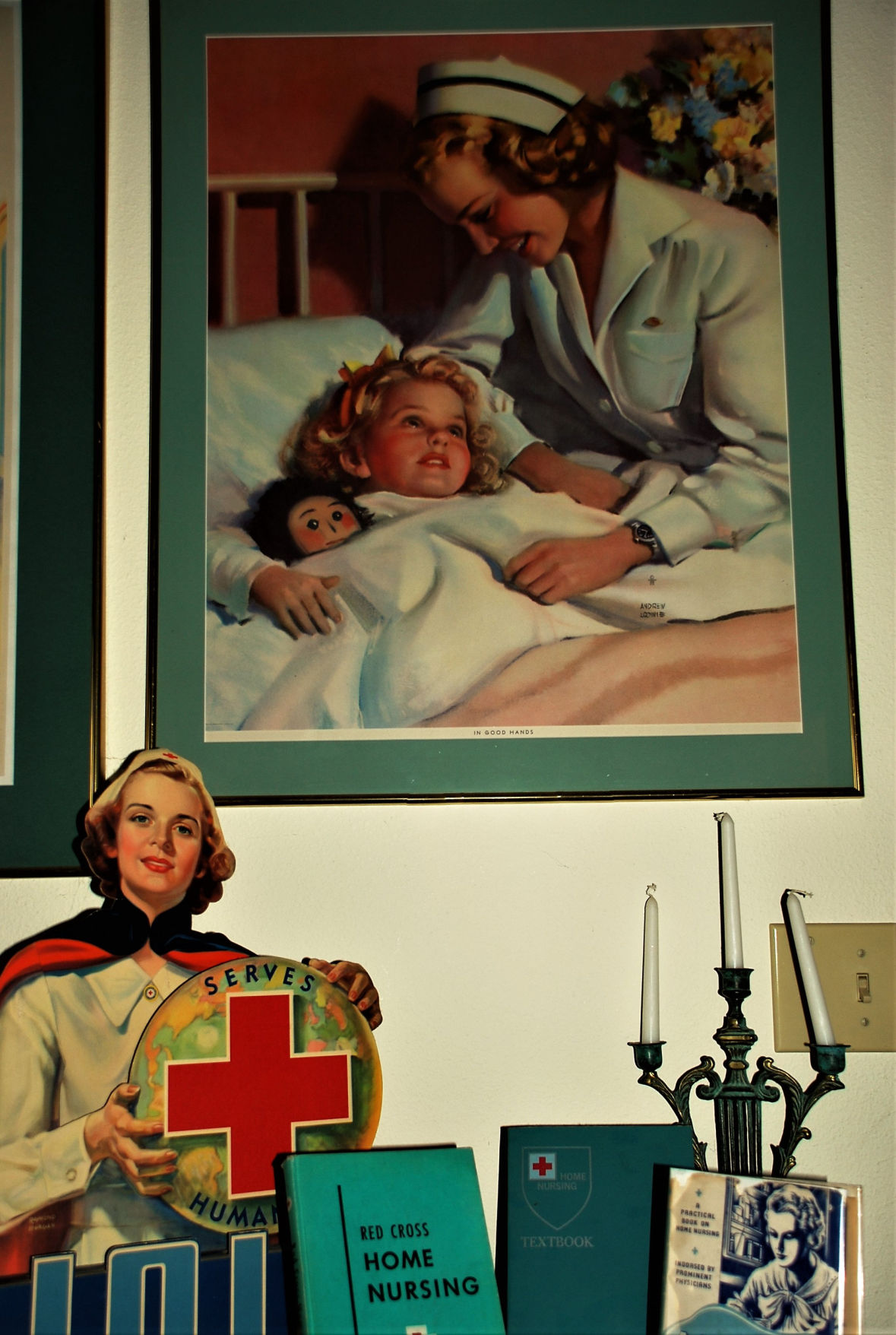 Local museum celebrates the 'lost art' of nursing