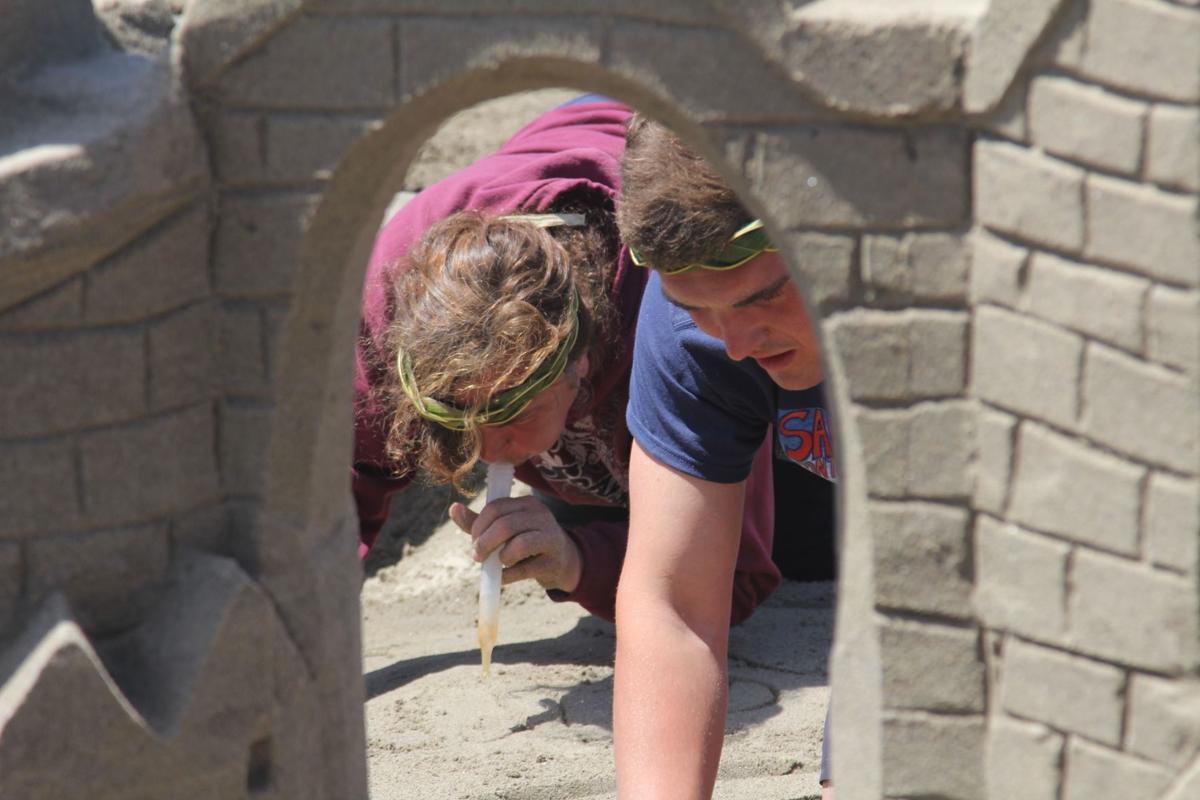 Wabi Sabi takes first in sandcastle quest