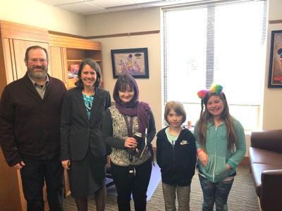 Visit from a legislator