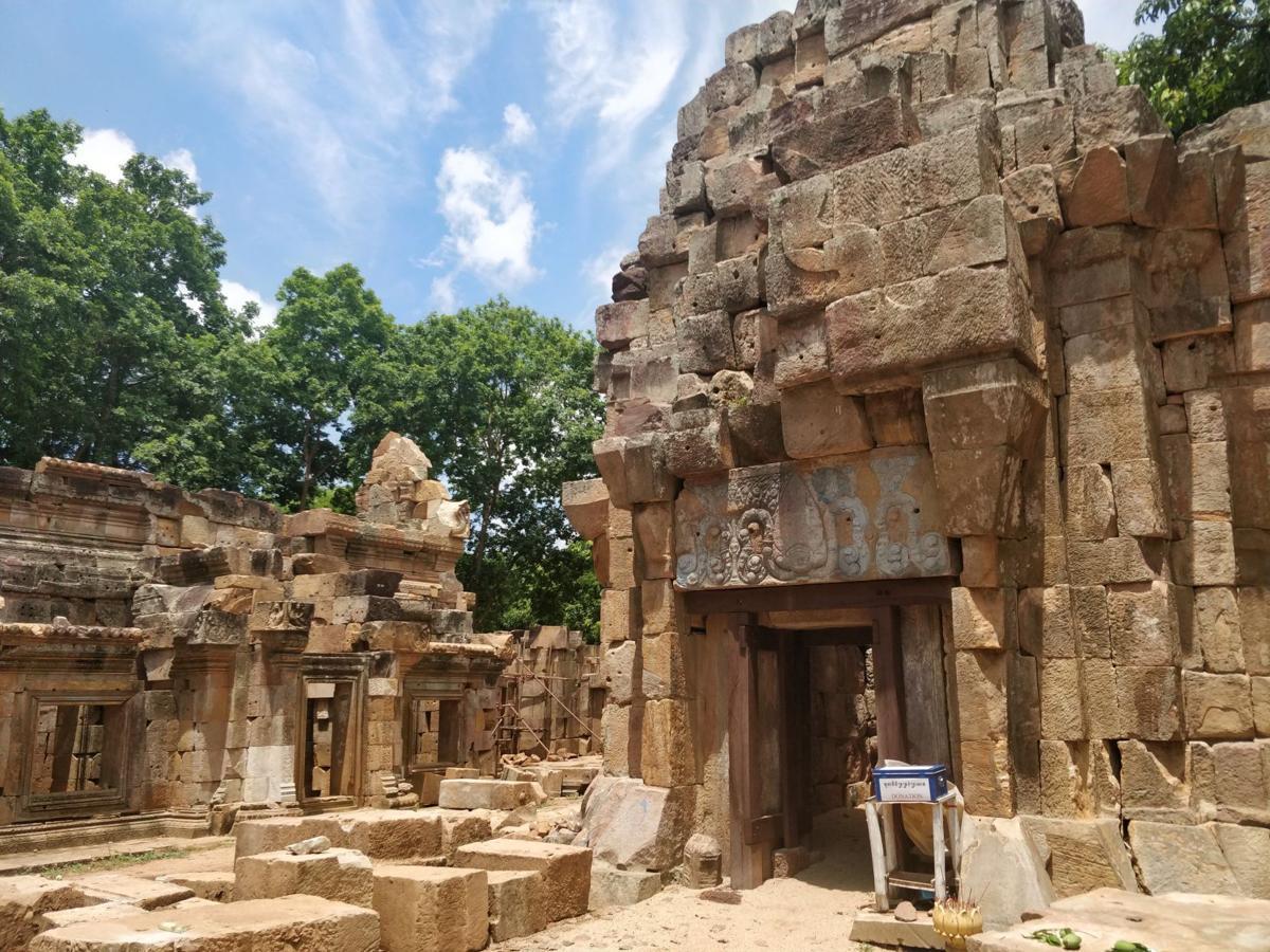 Remnants of Angkor Wat