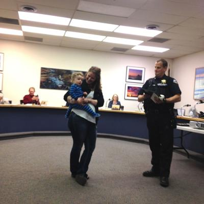 Cannon Beach woman honored for alerting police