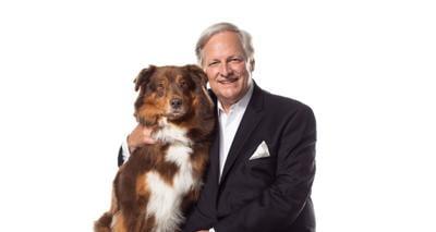 David Frei at The National Dog Show Photo Shoot