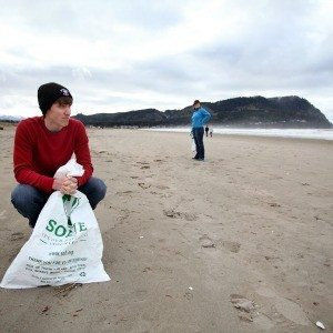Beach cleanups in Gearhart, Seaside and Cannon Beach