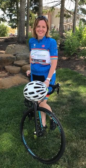 Woman to bike across Oregon to honor parents