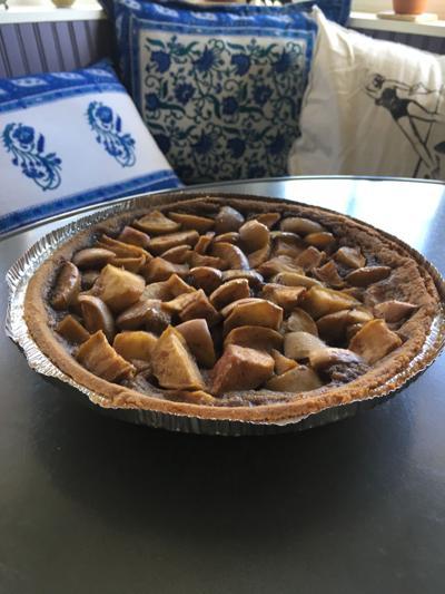 Eat apple pie, feel better