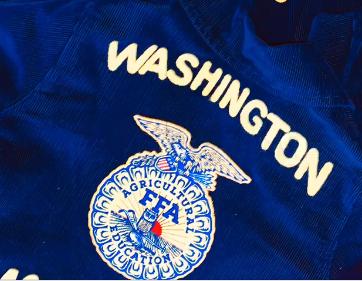 Washington FFA jacket