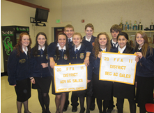Echo High School FFA chapter happenings highlighted by dinner, auction