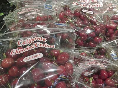 Calif. cherries